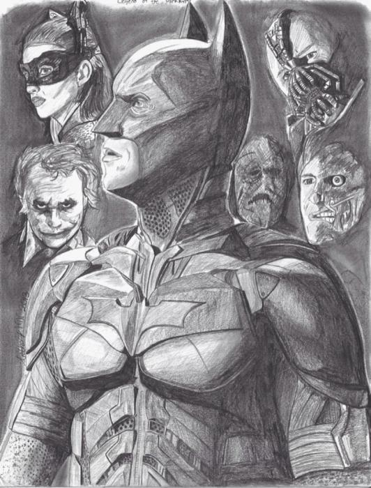 Batman par Wanted75